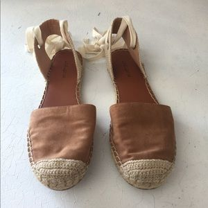 Indigo rd. Ballerina lace up flat espadrilles🌿